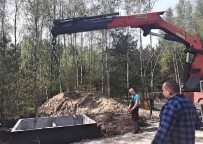 montaż szamba betonowego 2
