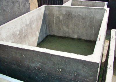 szambo betonowe z bliska